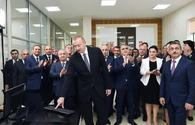 "President Ilham Aliyev launches water supply system in Astara <span class=""color_red"">[PHOTO]</span>"