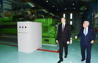 "President Aliyev attends inauguration of power station in Lerik <span class=""color_red"">[PHOTO]</span>"