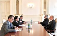 President Ilham Aliyev received Asian Development Bank vice-president