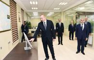 "President Aliyev launches Imishi Automated Control and Monitoring Center of Azerishig <span class=""color_red"">[PHOTO]</span>"