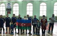 "Azerbaijan win mini-football tournament on ""Unity"" festival <span class=""color_red"">[PHOTO]</span>"