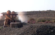 """Motorized rifle units of Azerbaijan army conduct shooting drills <span class=""""color_red"""">[VIDEO]</span>"""