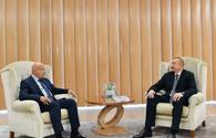 "President Aliyev meets ISESCO Director General <span class=""color_red"">[UPDATE]</span>"