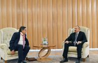 President Ilham Aliyev meets with UN assistant secretary-general