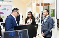 "Heydar Aliyev Foundation VP Leyla Aliyeva viewed pavilion which showcases innovative products and successful start-up applications <span class=""color_red"">[PHOTO]</span>"