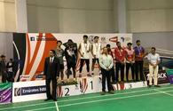 "National badminton players win two gold medals <span class=""color_red"">[PHOTO]</span>"