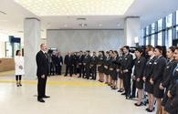 "Azerbaijani president, First Lady inaugurate Shaki ""ASAN Hayat"" complex <span class=""color_red"">[PHOTO]</span>"