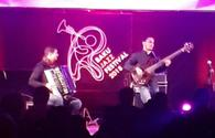 "Brazilian musician impresses jazz lovers in Baku <span class=""color_red"">[PHOTO]</span>"