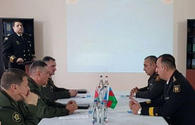 Military topographers of Azerbaijan, Belarus meet in Baku
