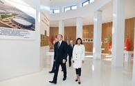 "President Ilham Aliyev, First Lady Mehriban Aliyeva attend inauguration of Flag Museum in Shaki <span class=""color_red"">[PHOTO]</span>"