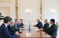 """Azerbaijani president receives OSCE MG co-chairs <span class=""""color_red"""">[UPDATE]</span>"""
