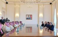 "President Aliyev receives delegation led by Saudi Arabian interior minister <span class=""color_red"">[UPDATE]</span>"