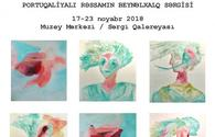 Portuguese artist to present art works in Baku
