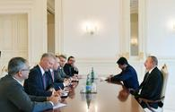 """President Ilham Aliyev receives delegation led by EU Special Representative <span class=""""color_red"""">[UPDATE]</span>"""