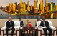 Azerbaijan proposes China to create work group to coordinate transport-related issues