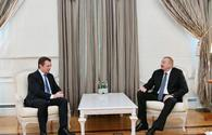 President Aliyev receives International Paralympic Committee's president