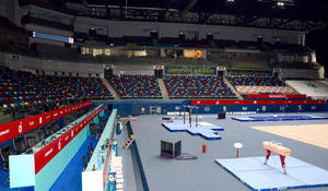 All conditions created at National Gymnastics Arena in Baku for full-fledged training