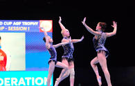"Day 1 of FIG Acrobatic Gymnastics World Cup kicks off in Baku <span class=""color_red"">[PHOTO]</span>"
