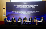 "Baku hosts int'l conference on illegal activity in occupied Azerbaijani lands <span class=""color_red"">[PHOTO]</span>"