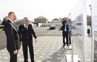 "Azerbaijani president arrives in Sumgait for visit <span class=""color_red"">[UPDATE]</span>"