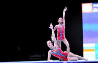 "Best moments from Day 1 of FIG Acrobatic Gymnastics World Cup <span class=""color_red"">{PHOTO}</span>"