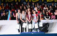 "FIG Acrobatic Gymnastics World Cup winners awarded in Baku <span class=""color_red"">{PHOTO}</span>"