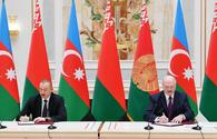 "Azerbaijan, Belarus sign bilateral documents <span class=""color_red"">[UPDATE]</span>"