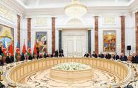 "Azerbaijani, Belarus presidents hold expanded meeting <span class=""color_red"">[PHOTO]</span>"