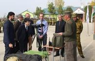 OSCE Programme Office starts its new patrol field capacity building project to train Tajik border troops