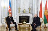 "Azerbaijani, Belarus presidents hold one-on-one meeting <span class=""color_red"">[PHOTO]</span>"