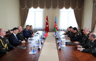 """Chiefs of general staffs of Azerbaijan, Turkey hold meeting <span class=""""color_red"""">[PHOTO]</span>"""