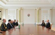 "President Aliyev receives delegation led by Chief of Turkish General Staff <span class=""color_red"">[PHOTO]</span>"