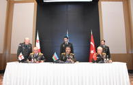"Representatives of power structures of Azerbaijan, Turkey, Georgia sign protocol in Baku <span class=""color_red"">[PHOTO]</span>"
