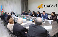 """Azerbaijan discusses the introduction of innovative technologies for the development of gold deposits <span class=""""color_red"""">[PHOTO]</span>"""