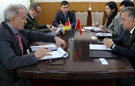 State Agency for Local Government of Kyrgyzstan discuss rural development with colleagues from Germany and China