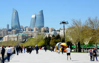 Cloudy weather expected in Baku