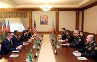 Reps of U.S. Department of Defense on visit to Baku