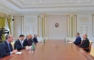 President Aliyev receives Turkish minister of transport and infrastructure