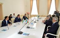 "Azerbaijan, Uzbekistan eye cooperation <span class=""color_red"">[PHOTO]</span>"