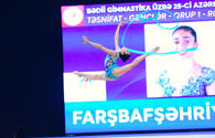"Second day of 25th Azerbaijan Championship in Rhythmic Gymnastics kicks off <span class=""color_red"">[PHOTO]</span>"