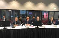 Azerbaijani FM talks development of trans-regional multi-modal transport corridors