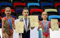 "Winners of third day of 25th Azerbaijan Championship in Rhythmic Gymnastics awarded <span class=""color_red"">[PHOTO]</span>"