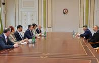 "Ilham Aliyev receives delegation led by Turkish minister of agriculture and forestry <span class=""color_red"">[UPDATE]</span>"