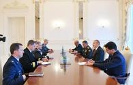 Azerbaijani president receives NATO Supreme Allied Commander Europe