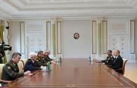 "President Aliyev receives Russian top military chief <span class=""color_red"">[UPDATE]</span>"