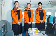 To the attention of females, willing to work as flight attendant of Azerbaijan Airlines (AZAL)