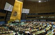 UNGA adopts Uzbekistan's resolution, co-sponsored by Azerbaijan