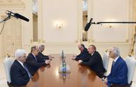 "Azerbaijani president receives Russian FM <span class=""color_red"">[PHOTO]</span>"