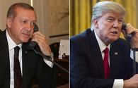 Erdogan, Trump agree to better coordination in Syria in phone call