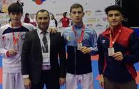 "National karatekas win 3 medals in Italy <span class=""color_red"">[PHOTO]</span>"